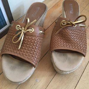 1109e617ebb Sperry Topsider Hillsboro Woven Wedge Sandal Heel